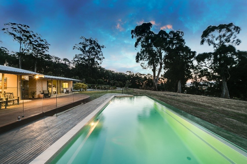 Compass Pools Melbourne SPASA 2017 Awards Winner Best Residential Fibreglass Pool Over 60000