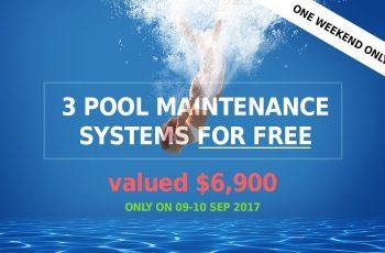 Compass Pools Melbourne 2017 Pool Maintenance Promotion
