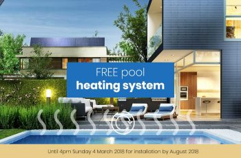 Compass Pools Melbourne Free Pool Heating Promotion 04 March 2018