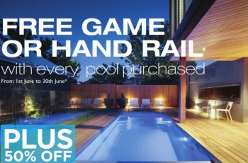 Compass Pools Melbourne End of Financial Year 2018 sale ends 30th June v2