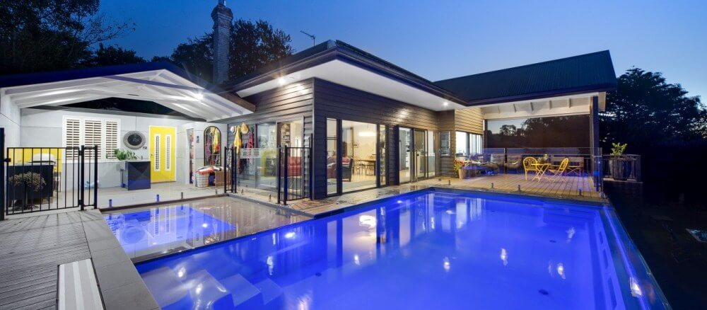 Compass Pools Melbourne Pool and spa combination as alternative to swim spa