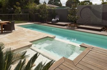 Compass Pools Melbourne Swimming Pool as the Centre of Landscaping