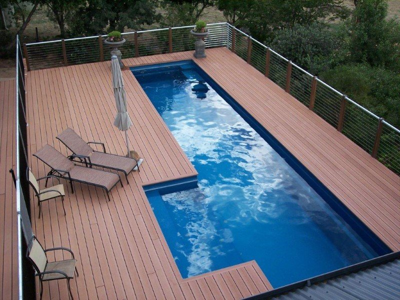 Above Ground Fibreglass Pools with Maxi-Rib Technology