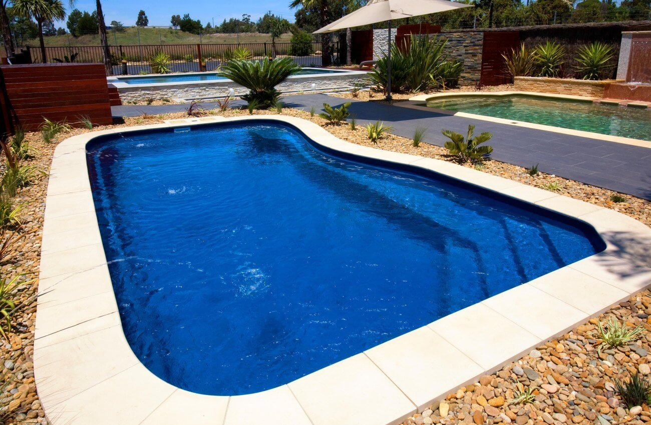 Compass Pools Melbourne Design Ideas Riviera Fibreglass Swimming Pools Installation 01