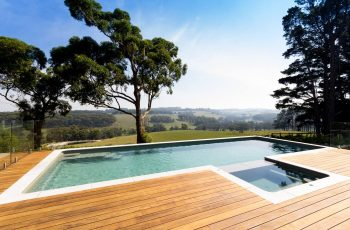 Compass Pools Melbourne SPASA Victoria 2015 Best residential pool over 60000 Infinity pool and spa