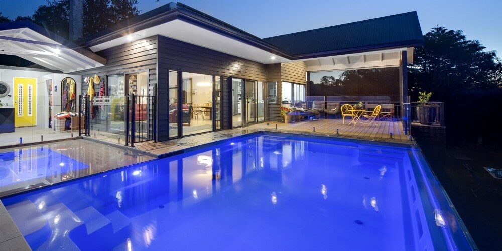 Pool lighting design Fibreglass Advice Compass Pools Melbourne All About Pool Lights Compass Pools Melbourne Pool Lighting And Pool Light Design 101 Compass Pools Melbourne