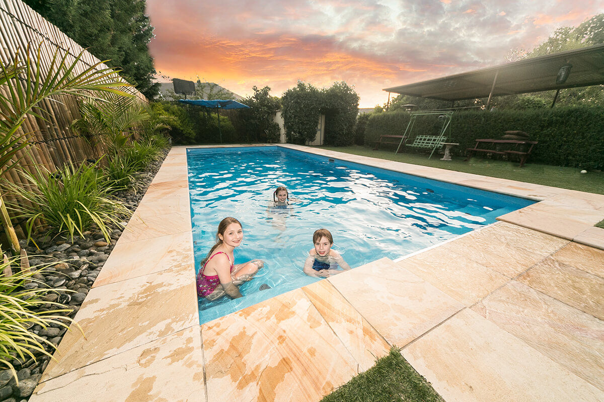 Compass Pools Melbourne Contemporary Pool Installation Ideas 04