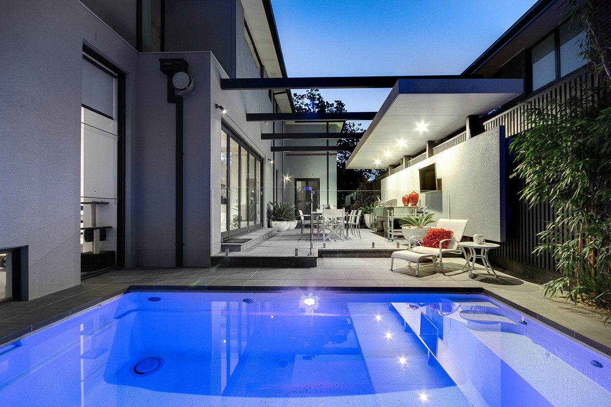 Compass Pools Melbourne Plunge Pool Pool Installation IdeasSpasa Award 2015 11 Maleela Ave Balwyn 08