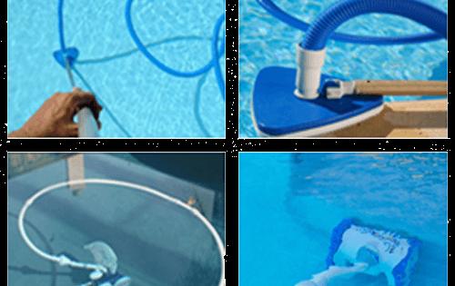 Clean me or clean the pool