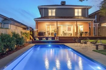 Compass Pools Melbourne Swimming Pool Design Ideas Pool landscaping