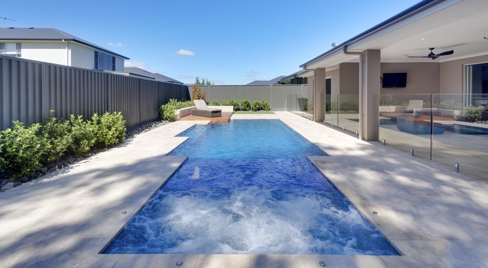 Consider a durable and great looking fibreglass pool